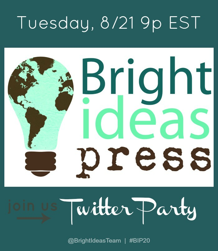 bright ideas press twitter party
