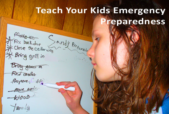Teach Your Kids Emergency Preparedness
