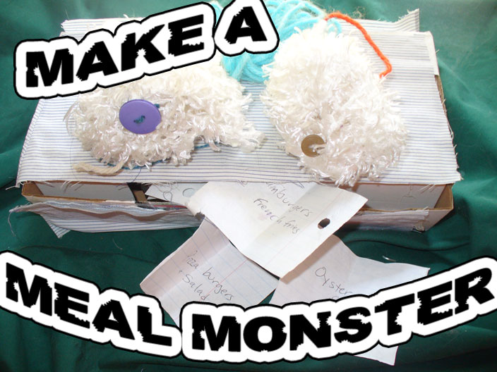 Meal Monster Dinner Helper by @BrightIdeasTeam and @PoeticLotion