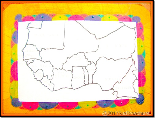 Decorate a Map Border