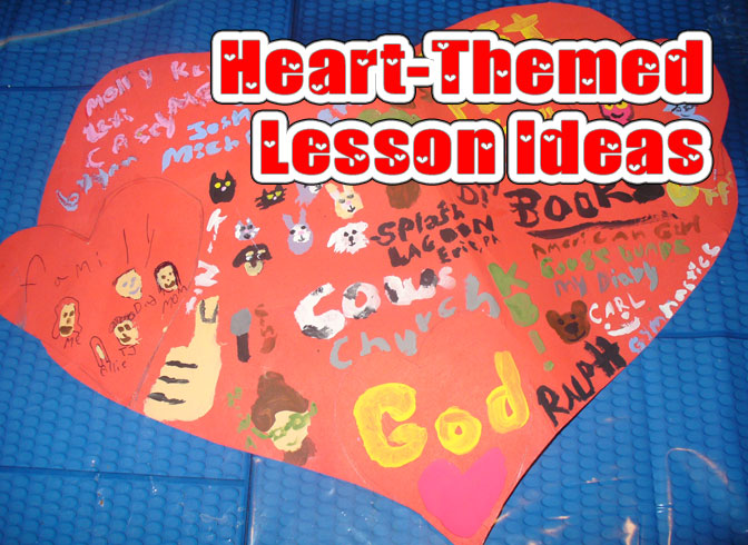 Heart-Themed Lesson Ideas | by @PoeticLotion and @BrightIdeasTeam