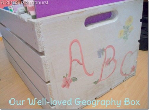 Well-Loved Geography Box @BrightIdeasTeam @SuzBroadhurst
