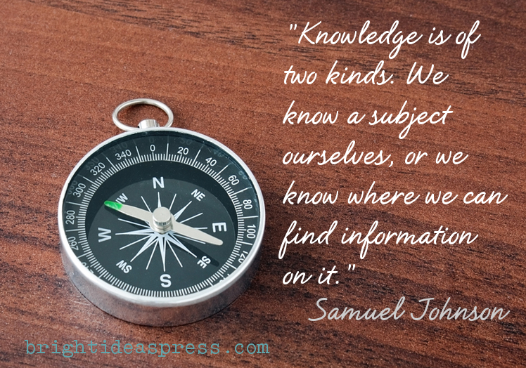 geography quote by Samuel Johnson @brightideasteam